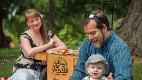 The simplicity of a family picnic. | Photo courtesy of Picnix