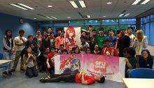 Members of the SFU Anime Club.| Photo courtesy of SFU Anime Club.