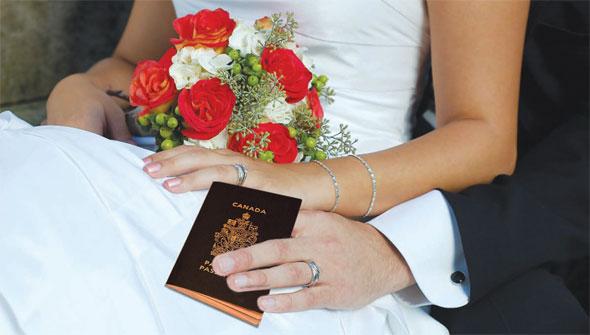 Mariage frauduleux Canada