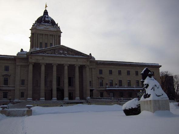 Winnipeg en hiver