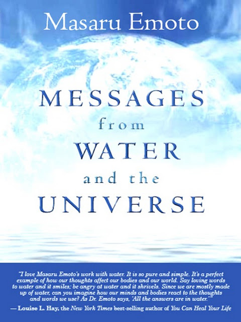 Message from the water