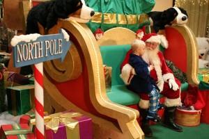 La résidence principale du Père Noël au Pôle Nord