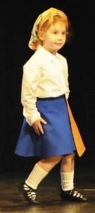 Madison Roeseler, une petite danseuse débutante