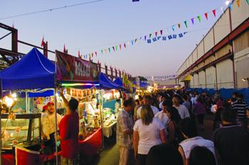 Le marché de Nuit d'Eté de Richmond