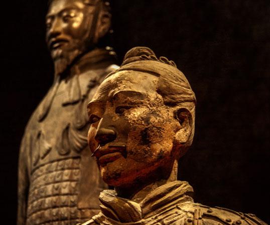 Le projet Terracotta Warrior à l'aéroport de Vancouver a été inspiré par les statues célèbres chinoises.