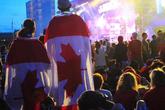 La fête du Canada à Ottawa. Photo par Appaloosa, Flickr.