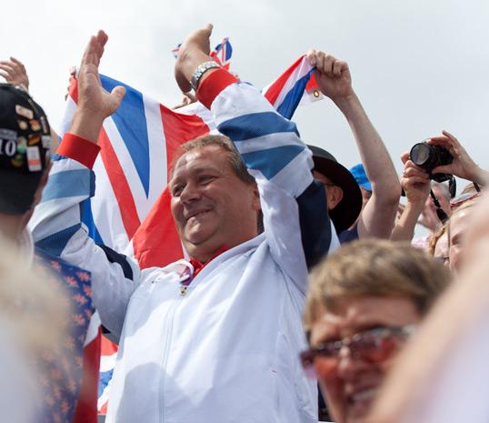 Moment olympique à Londres
