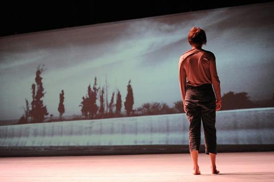 Land-Research du chorégraphie israélien Arkadi Zoides | Photo par Firehall Arts Centre