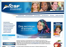 CLF C.-B. Site Web