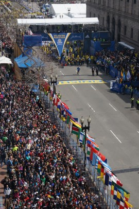 Marathon de Boston. | Photo par Aaron Tang, Flickr