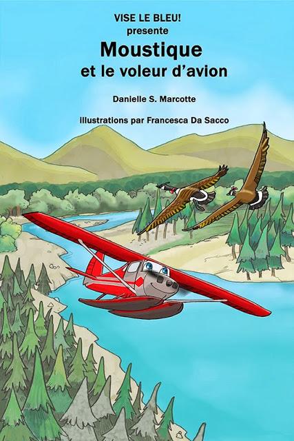 Livre électronique Moustique et le Voleur d'Avion | Illustration par Francesca Da Sacco
