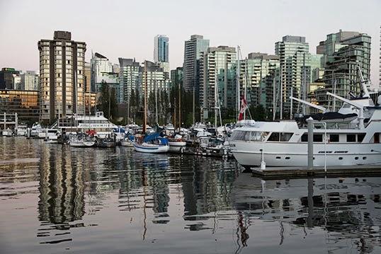 Les bateux sont-ils des sources de pollution à Vancouver?