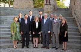 Photo de famille lors de la conférence ministérielle sur la francophonie canadienne qui a eu lieu les 4 et 5 septembre 2013  à Winnipeg au Manitoba.