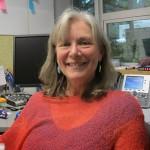 Patty Bossort tient les rênes du journal The Westcoast Reader depuis août 2013. | Photo par Sabrina Cassieu