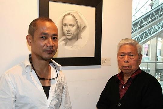Leo Cunanan Jr. avec son mentor Sym Mendoza. | Photo de Leo Cunanan Jr.