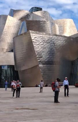 Le Musée Guggenheim de Bilbao. | Photo par Pascal Guillon