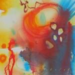 Sea creatures, une peinture de Lori Sokoluk. | Illustration par Lori Sokoluk