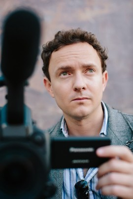 Cullen Hoback, réalisateur du film Terms and Conditions May Apply.   Photo de Variance Films.