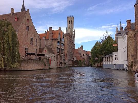 Les canaux de Bruges. | Photo par Pascal Guillon