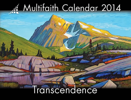 L'édition 2014 du Multifaith Calendar | Images par Multifaith Action Society