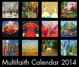 L' édition 2014 du Multifaith Calendar.