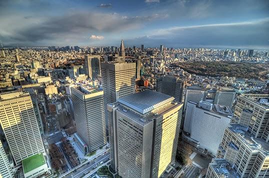 Tokyo, vue du ciel. | Photo par Night Fall 404, Flickr