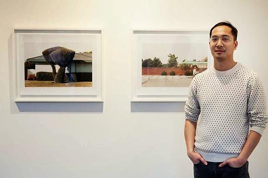 Kotama Bouabane, artiste installé à Toronto. | par Photo par Stephanie Lamy