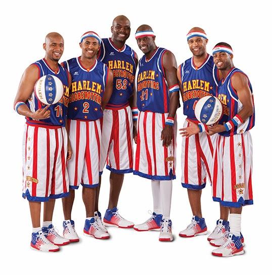 La nouvelle génération des Harlem Globetrotters  porte toujours aussi haut les couleurs des Etats-Unis.