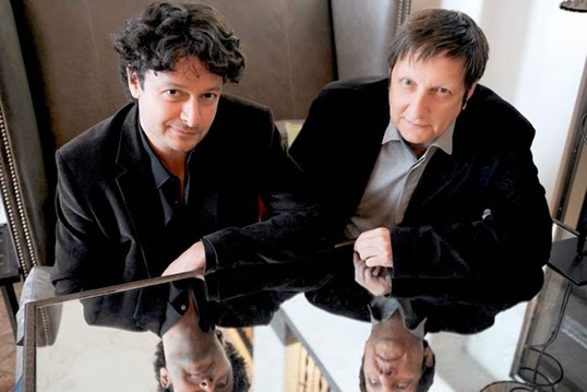 Robert Lepage et Pedro Pires. | Photo d'Archives, Le Soleil