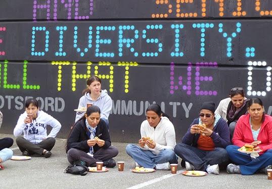 La diversité : l'une des valeurs proposées dans la charte.| Photo de University of the Fraser Valley