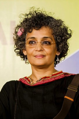 Arundhati Roy, écrivaine et activiste invitée par le Indian Summer Arts Society. | Photo de Indian Summer Arts