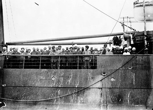 Les passagers du Komagata Maru ne débarqueront jamais au Canada. | Photo de Naveen Gir