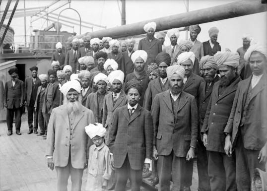 Autre époque... des citoyens britanniques de seconde zone. | Photo de Naveen Girn