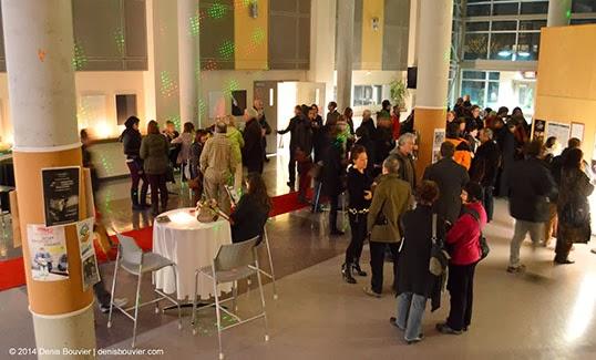 La soirée d'ouverture de cette année du Rendez-vous du cinéma québécois et francophone. | Photo par Denis Bouvier