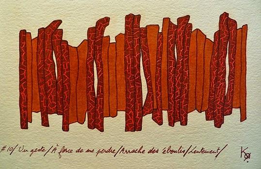 Catherine Tableau présente Fragments #1, l'apprentissage des limites. | Illustration par Catherine Tableau