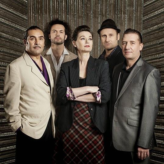 Le groupe Paris Combo.