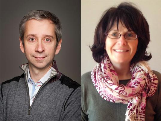 Patrick Leclair (à gauche), directeur de la Mini-école de médecine, et Colette Barabé (à droite), coordinatrice de la formation en santé au Collège Éducacentre. | Photos de Bureau des affaires francophones de la faculté de médecine d'Ottawa (à gauche) et Colette Barabé (à droite)