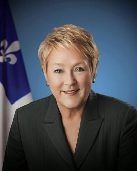 Pauline Marois, ancienne Première ministre du Québec. | Photo par Benoît Levac