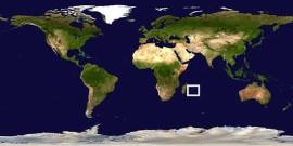 Les Mascareignes sont situées dans l'océan Indien au large de Madagascar.