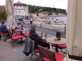 La ville slovène de Piran,  côte adriatique | Photo par Pascal Guillon