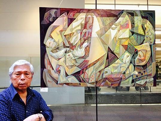 Sym Mendoza son oeuvre The Flight.