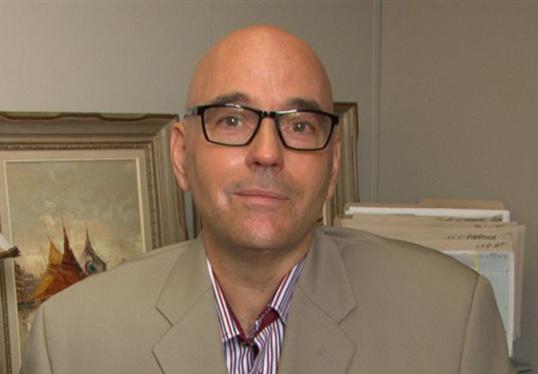 Robert Rothon, nouveau Directeur général de la FFCB.   Photo de Radio-Canada