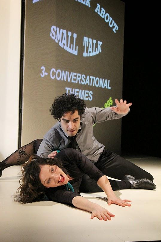 La pièce HomoBLABLAtus de La Otra Orilla. | Photo par Lydia Pawelak