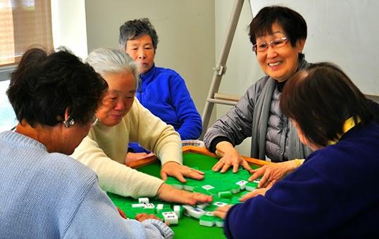 Le Centre Communautaire de Dunbar offre des parties de Mahjong. | Photo par Anne-Diandra Louarn