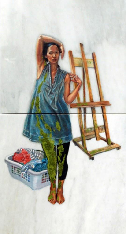 Une œuvre exposée dans le cadre de WINDOW : Suburbia de Janet Wang