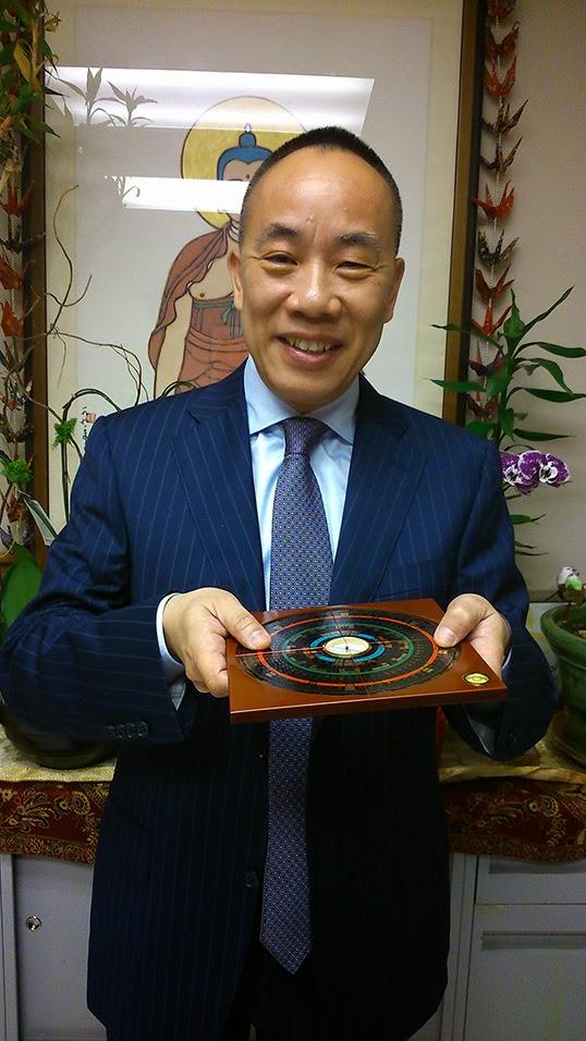 Sherman Tai, expert en Feng Shui et en divination chinois.