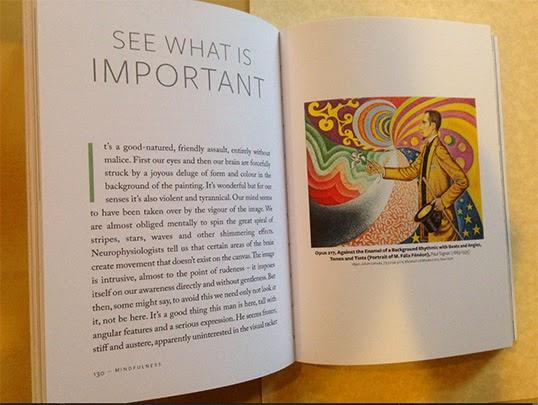 Chaque chapitre s'ouvre sur un tableau invitant à la méditation. | Photo de DR