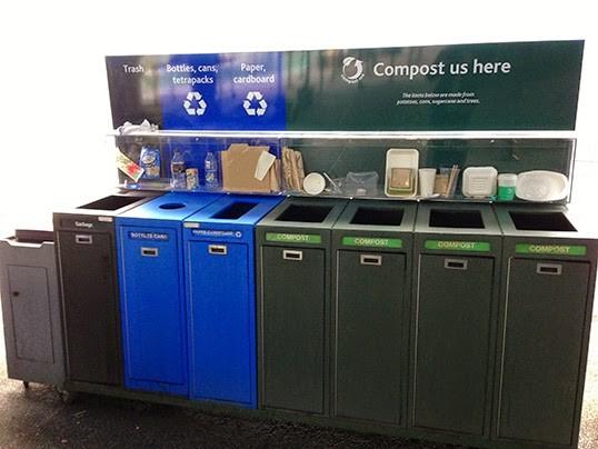 Les déchets de table ont désormais leur propre bac à ordures. | Photo par Rex Turgano