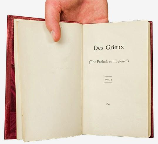 Des Grieux est l'antépisode Teleny. | Photo par Don Erhardt