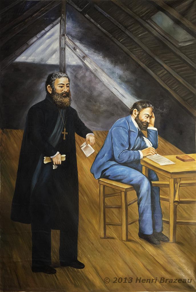 Le Père Pandosy qi fonda une Mission à Kelowna